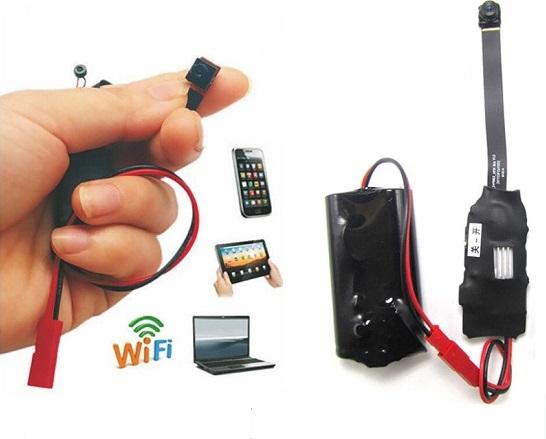 Módulo Espião Wifi Ip Câmera Hd Detector Movimento