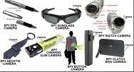 Um pouco mais sobre os equipamentos de espionagem